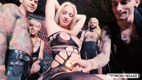 BDSM Angela Vidal First Bdsm Session (2018)