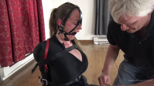 BDSM Latex Pink heel