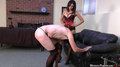 Femdom and Strapon whore hole