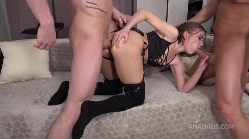 Anastasia Mistress In DAP Plus Spanking Plus Slapping Plus Anal Squirt