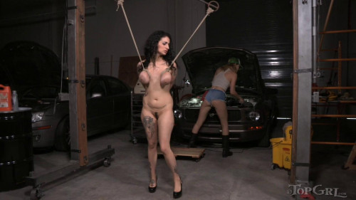 BDSM Stranded, Stripped , and Serviced