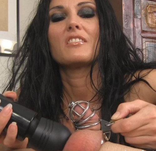 Femdom and Strapon Orgasm Impossible