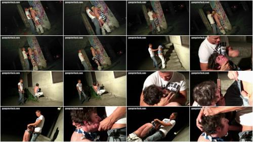 Gay BDSM Caning of a sprayer pt.2