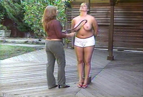BDSM More Breast Whipping