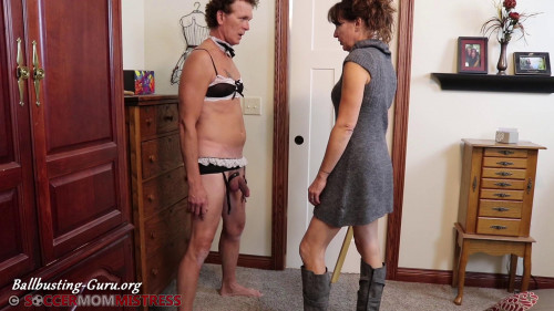 Femdom and Strapon Soccer Mom Mistress