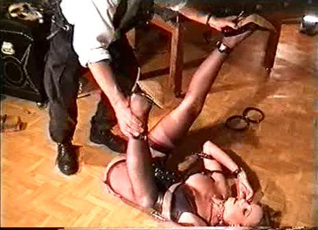 BDSM Young Beauty In Pain