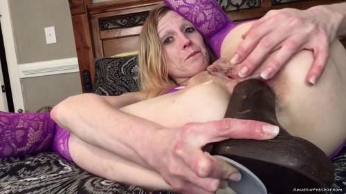 Fisting and Dildo Black Dicks Only Custom - Ashley Mercy - Full HD 1080p