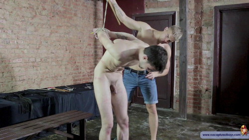 Gay BDSM RCapturedBoys - Twink Male Model Artem. Final Part