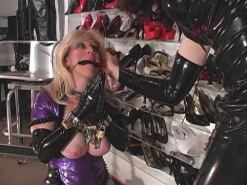 BDSM Rubber Boot Slut