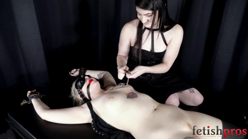 BDSM Bound, Gagged ,and Stripped
