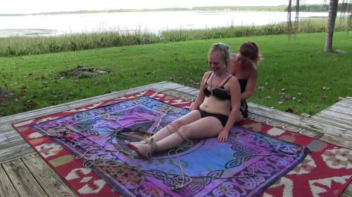 BDSM Chloe Hogtied By Fayth