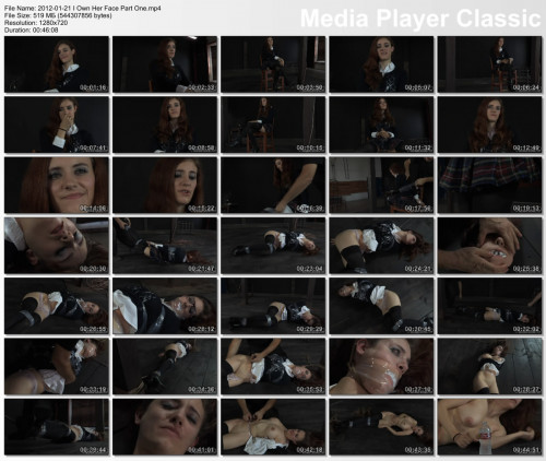 BDSM I Own Her Face Part One - Iona Grace - HD 720p