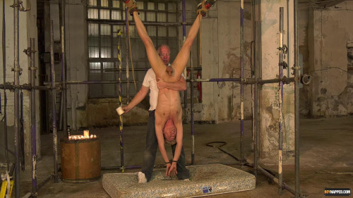 Gay BDSM Swinging Like A Piece Of Meat - Sebastian Kane, Chris Jansen
