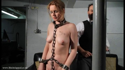 BDSM Tight bondage and domination for sexy naked slavegirl part1 HD 1080p
