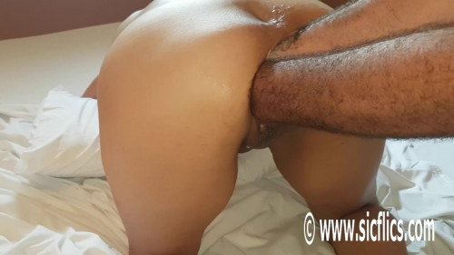 Fisting and Dildo Double fist fucking Marias ass