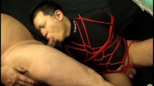 Gay BDSM Innocent Rope