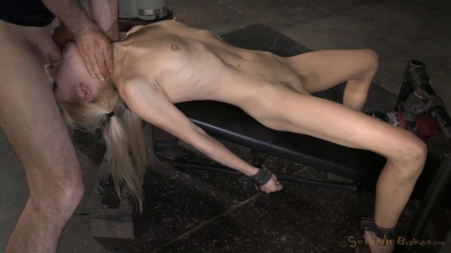 BDSM Odette Delacroix - Facefucked By Hard Cock!