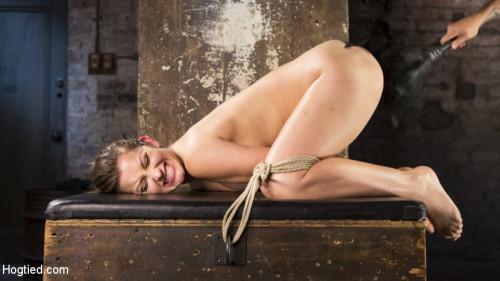 BDSM Dani Daniels Submits in Brutal Bondage