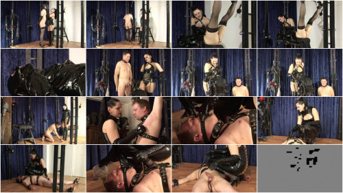Femdom and Strapon Analinspection - Herrin Silvia