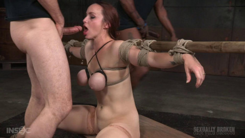 BDSM Tited tits and strict challenging bondage!