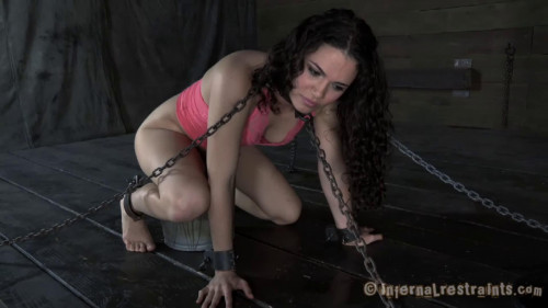BDSM Tight bondage, domination and torture for horny hot slut part 1