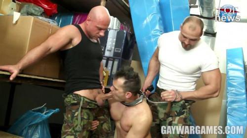Gay BDSM GayWarGames - Right and Justice Parts 2