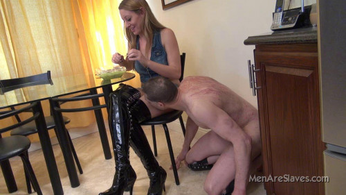 Femdom and Strapon Men Are Slaves Pack1