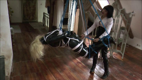 BDSM Latex New Only Best Magic Sweet Collection Of Bondage Education. Part 1.