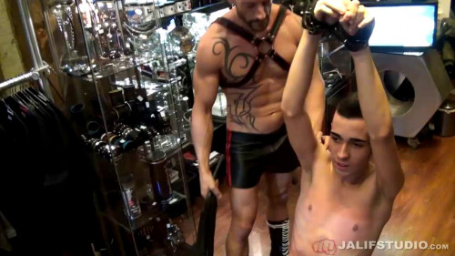 Gay BDSM Rainer and Rafa Marco