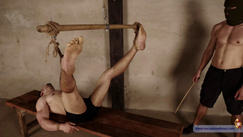 Gay BDSM Prisoners Competition - Andrei. Part V