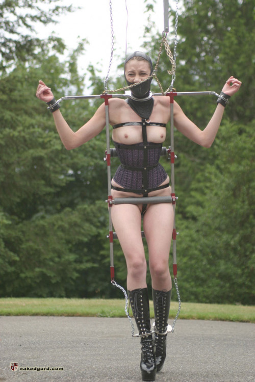 BDSM House of Gord -  Charlotte Brooke Walk Training