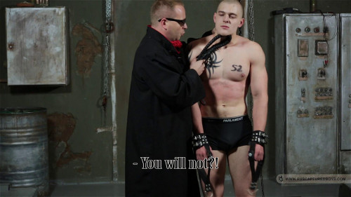 Gay BDSM Another Victim of Justice - Part IV
