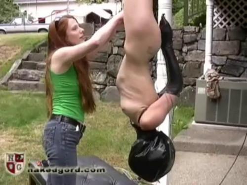 BDSM Charlotte Brooke Inverted Suspension Bondage