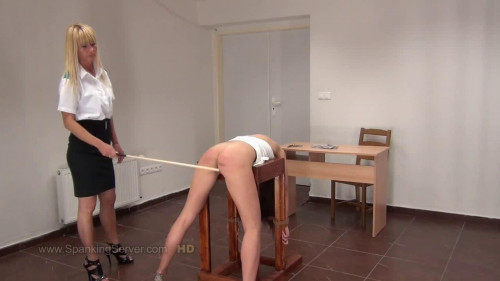 BDSM Super bondage, domination and spanking for very beautiful girl Full HD 1080p