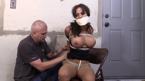 BDSM Chichi Medina-Mmmmpph! You tied me so tight! I like it!