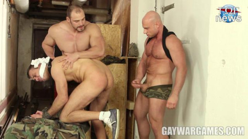 Gay BDSM GayWarGames - Right and Justice Parts 4