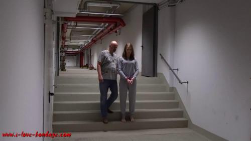 BDSM I love Bondage - Arresting with pat down