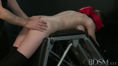 BDSM Young Sub Stella Assfucked By Master White