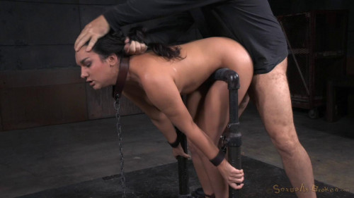 BDSM Bound in Device Bondage and Roughly Fucked!