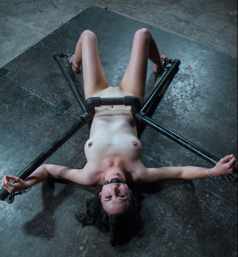 BDSM Bound In Pipes And Taught to Submit