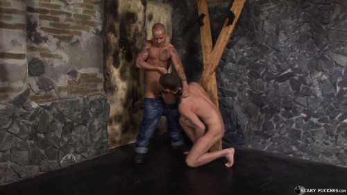 Gay BDSM Skinheads Torture Room, Scene 4