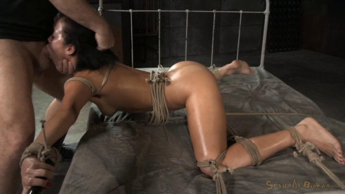 bdsm Drooling deepthroat and brutal fucking