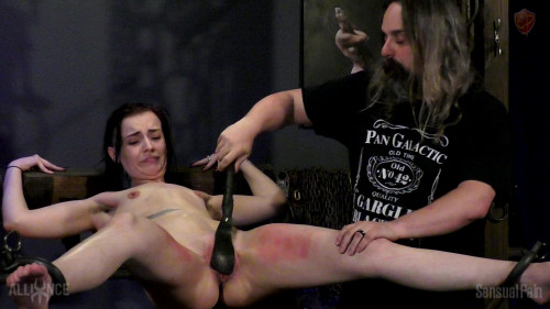 BDSM SP Abigail Dupree -  Racked Skewered  In Pain