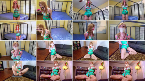 BDSM Green Girdle Bound-rope bondage videos