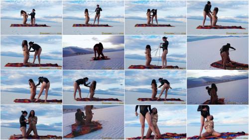BDSM Bondage in the Sand