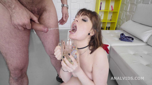 Robin's Anal Casting goes Wet, Victoria Wet, Balls Deep Anal
