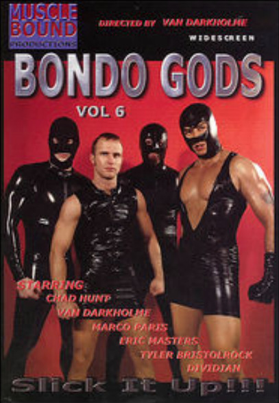 Gay BDSM Muscle Bound Prod - Bondo Gods Vol 6