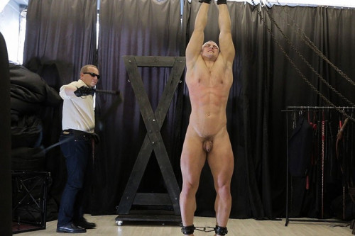 Gay BDSM RusCapturedBoys Artem Zakharov in Slavery. Final Part