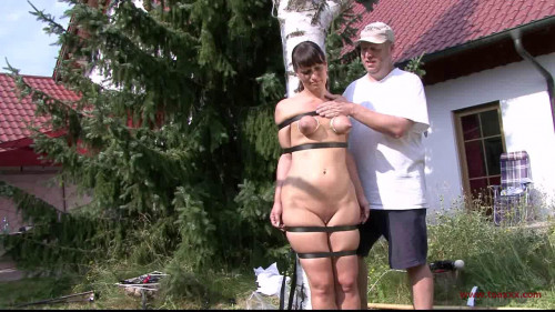 BDSM Toaxxx - tx119 Nadja Nice and Yvette Costeau Outdoor Challenge