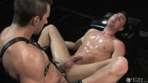 Gay BDSM This Will Hurt, Scene 03: Phenix Saint, Rusty Stevens, Tristan Phoenix